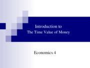 Bens Time Value of Money