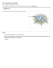 02c Ch 3.1 - Equilibrium of a Particle completed