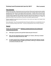 CCLA (sale of goods) practice question.pdf