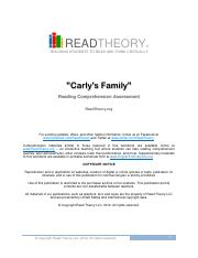 Printables Read Theory Llc read theory answers and explanations copyright llc hrm 103