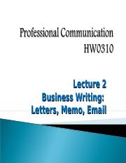 Lecture 2_Letters Memos Email HO.ppt