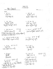 Algebra 2 Equations And Answers - Worksheets for Kids, Teachers ...