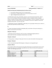 Genetics Spring 2014 Exam 1 Chapters 1-5 Key.docx