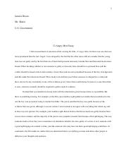 Our school bus essay