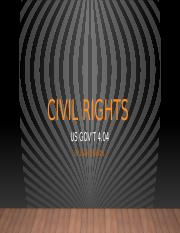US Gov't 4.04 Civil Rights