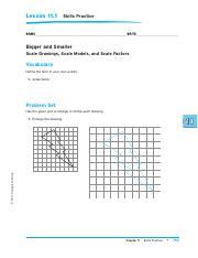 Lesson 40 Skills Practice (1).pdf - Lesson 11.1 Skills ...