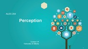 Lecture 1-9 - Perception -  Slides