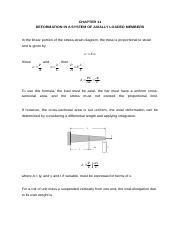 CHAPTER 11 Deformation in a System of Axially Loaded Members.docx