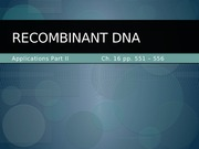 36 - DNA Applications 2(2)