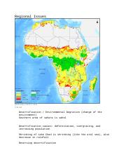 Africa Regional Issue.doc