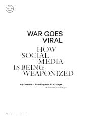 how social media is being weaponized