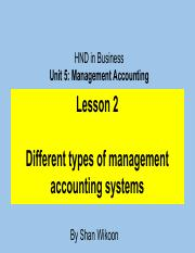 339956471-Lesson-2-HND-in-Business-Unit-5-Management-Accounting