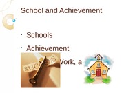 Social.School and Achievement