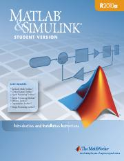 Intro to MATLAB & Simulink