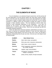 Ch1-elements of music handout