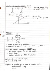 Notes on Metabolism