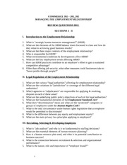 COMM 392 Review Questions 2011 1-4