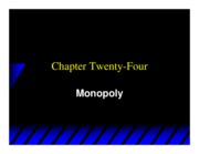 Varian_Chapter24_Monopoly