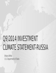 Q9)2014 Investment climate statement-RUSSIA.pptx