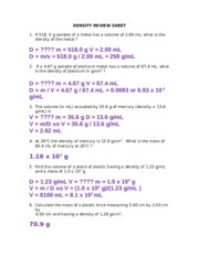 Sect2.1_Density Worksheet - 7 From their density values decide ...