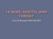 Mouth,Nose Throat Revised 0209
