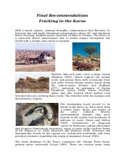 Final Recommendations regarding Fracking in the Karoo.docx