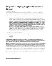 Strategic Supply Management - Chapter 8.docx