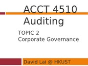 1213+ACCT4510+Topic+2+Corporate+Governance+-+Slides