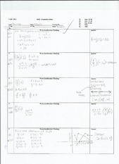 2.2 The Algebra of Functions Notes