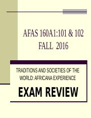 AFAS 160A1-101 and 102 Fall 2016 -- Exam Review.pptx