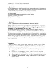 Corporate Finance Solutions - Module 9b