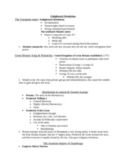exam two study guide