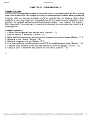 Chapter 11-Consumer Math