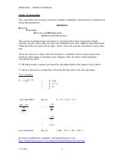 arithmetic_notes