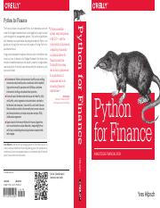 Yves Hilpisch Python for Finance Analyze Big Financial Data.pdf