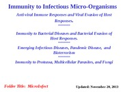microinfection notes