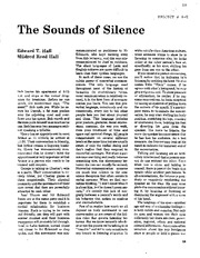 4-E The Sounds of Silence