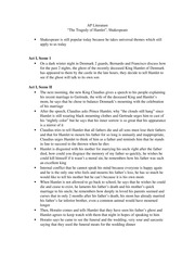 hamlet study guide questions Hamlet by william shakespeare a shakespeare in the ruins study guide   many questions about the play continue to fascinate readers and playgoers.