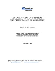 Federal Crop Insurance in Wisconsin 1