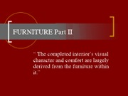 furniture part2 read pg 403_ch13