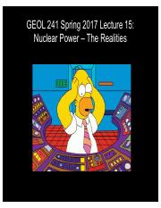 GEOL241 F2017 Lect15 -- Nuclear Realities.pdf