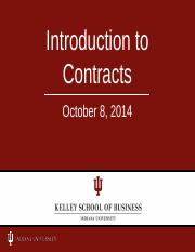 Exam #2 Review CONTRACTS with answers to quizzes in red-2