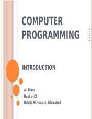 CP- Introduction to Programming.pptx