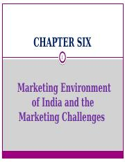 Marketing environment of India and the marketing challenges.pptx