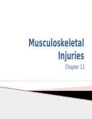 On line Chapter 11 Musculoskeletal Injuries.pptx