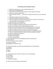 Microbiology Review Questions.docx