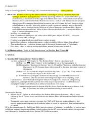 NOTES AND STUDY GUIDE EXAM 1