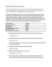 BUSI 320 Comprehensive Problem 2.docx