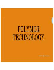 Topic 14 Polymer Technology.pdf