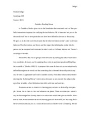Soc 145- Becker Reading Memo.docx